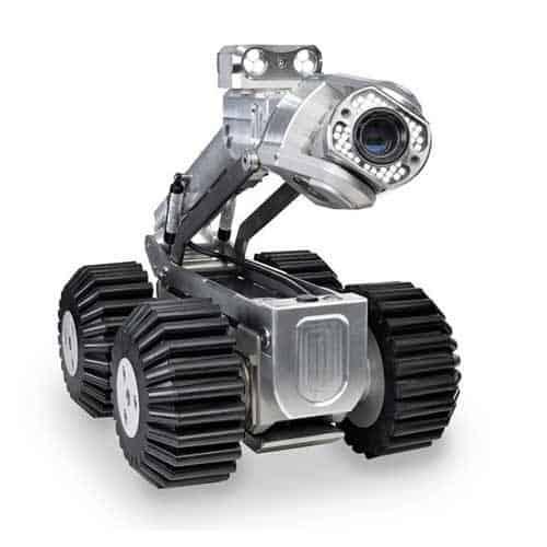 Робот для видеодиагностики канализации